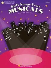 Girls Songs From Musicals BK with online audio
