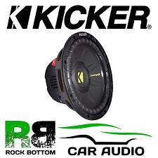 "Kicker 40CWD122 CompD 12"" inch DVC 600 Watts Dual 2 Ohm Car Subwoofer Speaker"