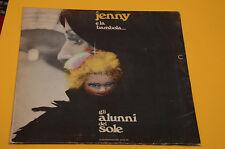 LP SOLO COPERTINA SENZA DISCO ALUNNI DEL SOLE JENNY E LA BAMBOLA 1° ST ORIG 1974