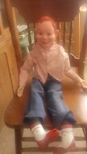 "VINTAGE 1972 HOWDY DOODY VENTRILOQUIST PULLSTRING 30"" DOLL (MISSING PULLSTRING)"