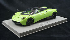 1/18 BBR PAGANI HUAYRA LIME GREEN GREY DELUXE BASE LE 10 PCS SERIAL # 01/10
