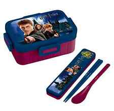 Harry Potter Bento Lunch Box w/ Chopsticks & Spoon Combi Set Skater Japan Made