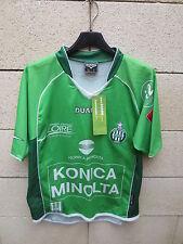 VINTAGE Maillot SAINT-ETIENNE DUARIG 2005 ASSE Les Verts football maglia S shirt