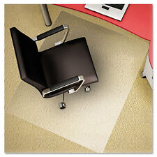 deflecto Clear Polycarbonate All Day Use Chair Mat, 36 X 48""
