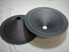 "Pair 15"" Paper Cones - Speaker Parts - 451541-2"