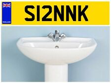 S12 NNK COMPANY TRANSIT VAN BATHROOM KITCHEN FITTER CHIPPIE PLUMBER NUMBER PLATE