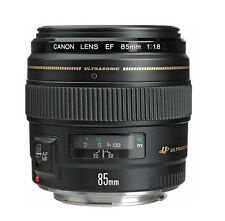 Canon EF 85mm f/1.8 USM Lens  made Japan