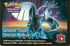POKEMON ONLINE CODE CARD FROM THE FALL 2013 LUGIA TIN