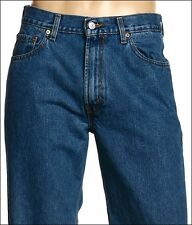 New Levi's Mens 550 4891  Original Relaxed Fit  Stonewashed Denim Jeans 40 X 30