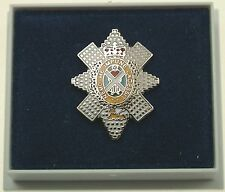 BLACK WATCH REGIMENTAL LAPEL PIN BADGE