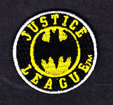 BATMAN LOGO-JUSTICE LEAGUE PATCH-DC COMICS- Iron On  Patch/TV, Movie,Cartoons,