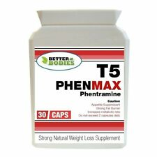 30 T5 PHENMAX PHENTRAMINE STRONG DIET SLIMMING WEIGHT LOSS PILLS FAT BURNERS