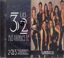 Garibaldi Las 32 Mas Grandes  2CD New Nuevo sealed