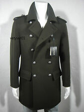 NWT RALPH LAUREN Military Wool Commander Jacket Officer Coat Green sz 40R( M/L )
