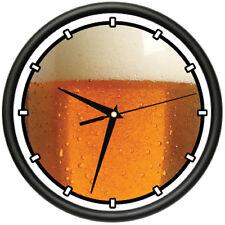 DRAFT BEER Wall Clock keg german beer beer snob beer lover pub drunk  gift