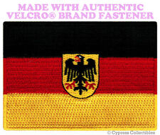 GERMAN EAGLE FLAG PATCH GERMANY DEUTSCHLAND Aufnäher w/ VELCRO® Brand Fastener