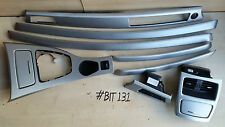BMW 3 SERIES E92 COUPE ALUMINIUM BRUSH INTERIOR TRIM DASHBOARD TRIM SET KIT