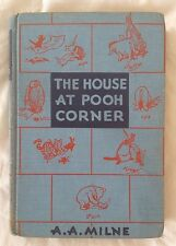 Vintage The House At Pooh Corner 1956 A. A. Milne E. P. Dutton & Co.