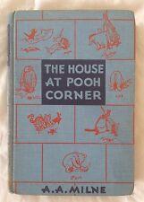 Vintage The House At Pooh Corner 1956 A. A. Milne E. P. Dutton & Co.