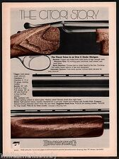 1978 BROWNING Citori Over & Under Shotgun  Print AD