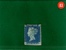 RED83 GB 1840 2d blue AA used FU close-cut but attractive SG.5 cat £900-