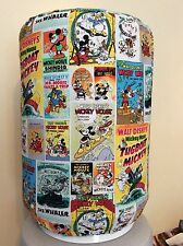 MICKEY MOUSE DISNEY COMICS 5 GALLON WATER COOLER BOTTLE COVER KITCHEN DECORATION