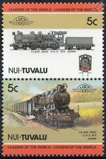 1911 JNR Class 8800 4-6-0 (Japanese National Railways) Train Stamps / LOCO 100