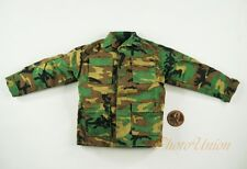 Dragon 1/6 Figur USA Army Marine NATO Woodland Camo Shirt Tunic Uniform DA316