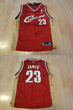 Youth Cleveland Cavs Lebron James S (8) Jersey (Red) Reebok Jersey