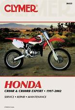 1996 1997 1998 1999 2000 2001 2002 Honda CR80R CR80 Clymer Repair Manual M435