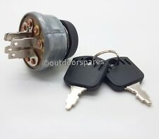 Mountfield Replacement Ignition Switch For Ride On Mowers, Models RV25, 1228H