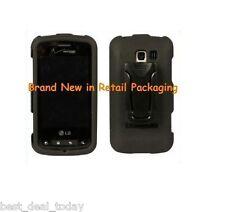Body Glove Hard Snap On Case Cover W/Clip For LG Elighten VS700 VS-700 Verizon