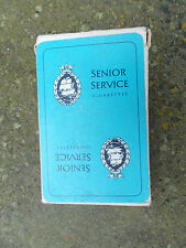 Vintage Senior Service Cigarettes Playing Cards