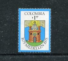 Colombia 832, MNH, Coat of Arms Medelin 1975-1979.  x23053