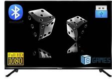 "BlackOx 32MS3201 32"" 1080p Full HD* LED TV Bluetooth-MHL-Dual USB-Game-5 yrs Wty"