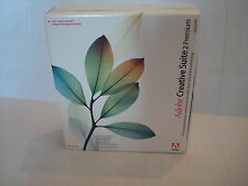 Adobe Creative Suite 2 Premium Upgrade Software - MAC (Retail Box) w/serial #
