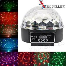 DMX512 DJ Stage Lighting Party Crystal Ball LED Club Disco Light Music Active