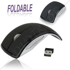 2.4G Wireless Foldable Folding Arc Optical Mouse for Microsoft Laptop Notebook