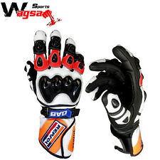 Honda Repsol Motorbike Leather Gloves Racing Suits Protected Racing Glove MotoGP