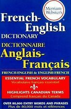 Merriam-Webster's French-English Dictionary (2000, Paperback, Revised)