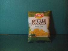 Barbie 1:6 Kitchen Food Miniature Bag of Kettle Cooked Jalapeno Chips