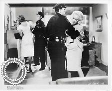 Mamie Van Doren getting arrested still Guns, Girls, and Gangsters (1959) origVNT