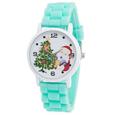 Xmas Gifts Children Kids Color Silicone Watch Quartz Steel Wrist Watches Z3