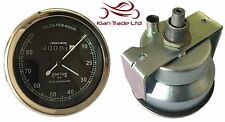 SMITHS BLACK FACE SPEEDOMETER 0-80MPH - BSA / ENFIELD / NORTON-REPLICA