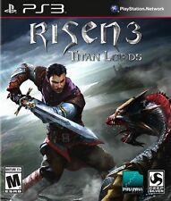 Risen 3: Titan Lords USED SEALED (Sony PlayStation 3, 2014) PS PS3