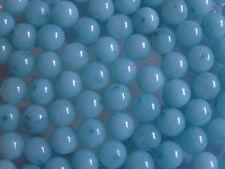 25 Amazonite Round Gemstone Jewellery Beads 6mm