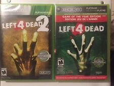 Left 4 Dead 1 & 2 (Xbox 360) Great Horror Lot  & Resealed *FREE SHIPPING*