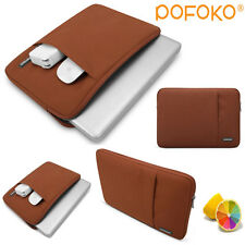 """Brown Tablet sleeve carry bag case pouch for 10.6"""" 12"""" Microsoft surface pro RT"""