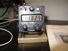"""Becker AR3201 Com Radio, Compact 2 1/4"""" Panel Mount Com, 760 ch VFR&IFR"""
