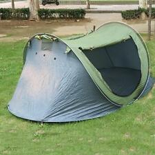 SEC QUICK CAMPING POP UP TENT WATERPROOF 2 PERSON BACKPACK HIKING FOLDING TENT